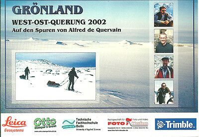 Deutsche Grönland Expedition 2002  - West - Ost -Querung