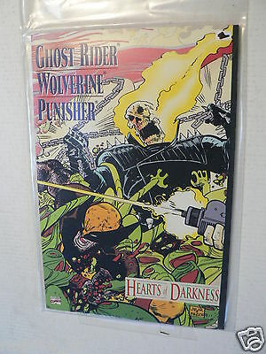 Usa Comic Ghost Rider Wolverine Punisher Heart Of Darkness 1991 Marvel Comics