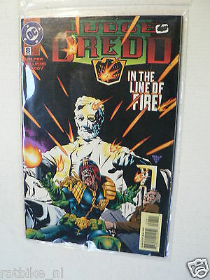 Usa Comic Judge Dredd In The Line Of Fire Dc Comics 1994 No 8
