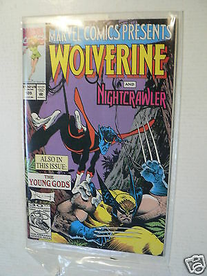Usa Comic Wolverine,nightcrawler,ghost Rider,dr Strange,thing 1992 No 105 Marvel