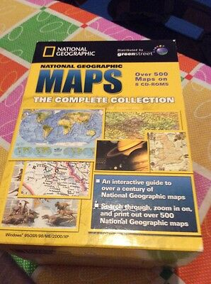 National Geographic Complete Collection Of Maps,