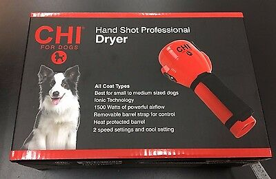 NEW CHI for Dogs Hand Shot Professional Dryer FFP7552PS