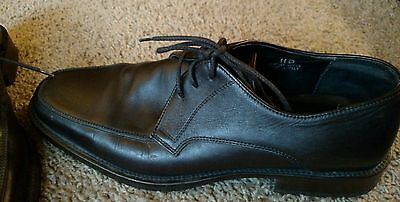 Mens Banana Republic Brown Leather Lace Up Shoes Size 11D
