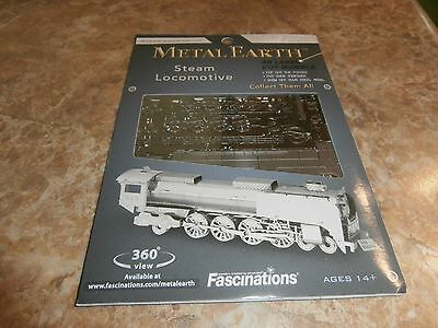 Metal Earth Laser Cut Model Steam Locomotive