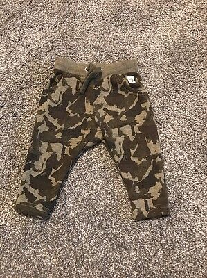 River Island 3-6 Months Camouflage Pants