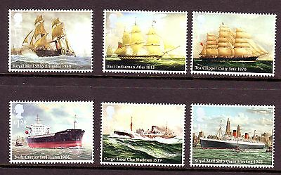 2013 Ships Set U/m - Below Face