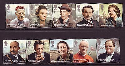 2013 Famous Britons Set U/m - Below Face