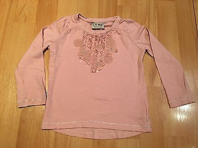 Girls Next T-shirt With Intricate Detail- Age 1.5-2 Years