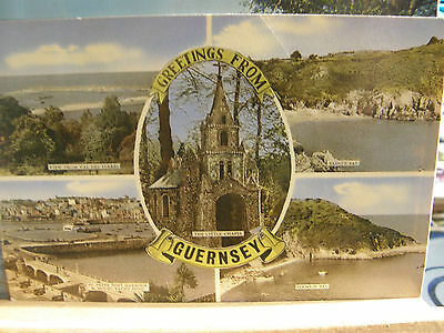 Postcard, Greetings from Guernsey, 1963, 328