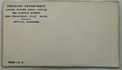 1968 United States US Mint Uncirculated Coin Set SEALED