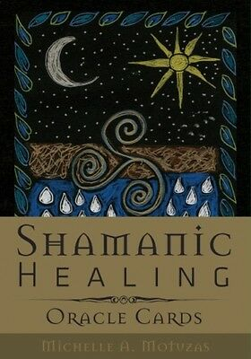 NEW Shamanic Healing Oracle Cards Michelle A. Motuzas