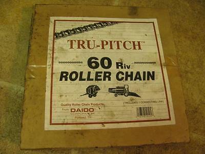 10' Feet Daido 60 Roller Chain with Connector Link