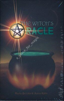 NEW The Witch's Oracle Cards Deck Marla Brooks Aunia Kahn