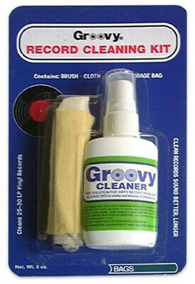 Bags Unlimited Agck-2 Groovy Record Cleaning Kit - Accessories