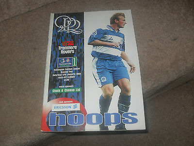 Queens Park Rangers v Tranmere Rovers 17/1/98