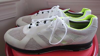 Adidas White Leather Men's Running Shoes Size 11