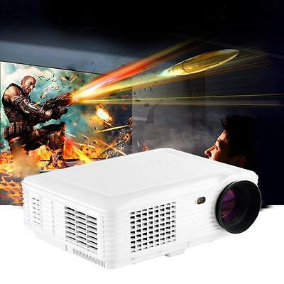 3500 Lumens LED Projector Home Theater USB TV 3D HD 1080P Business VGA/HDMI W1