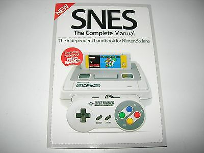 SNES : The Complete Manual By Retro Gamer - Brand NEW - Mario / Metroid / F-Zero