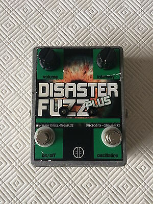 Devi Ever Effector 13 Disaster Fuzz Plus Effects Pedal. Rare!