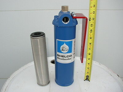 New 40 Micron Cleanable Fuel Oil Filter,Waste Oil, Heaters,Burners,Furnace,WVO