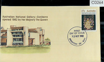 C0264cgtA5 1982 Australia ACT Canberra National Gallery Opening FDI Cover