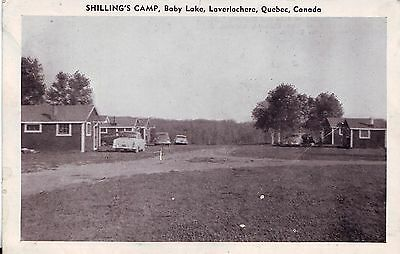 Canada Laverlochere Baby Lake Quebec - Shilling's Camp old postcard