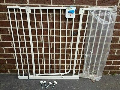 Extra Tall Baby Gate with extenders