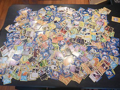 Bulk lot of 1000 Pokemon Cards used - good condition - Lot 3