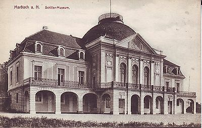 Germany AK Marbach a. N. - Schiller-Museum old postcard