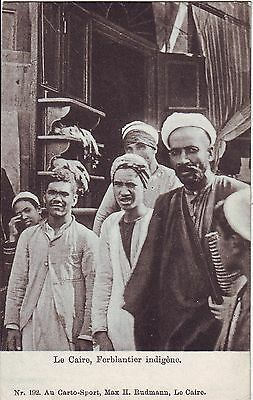 Egypt Cairo - Native People old postcard
