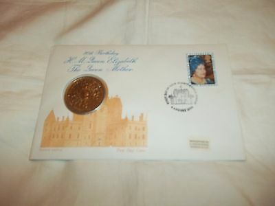 Queen Mother 80th Birthday Coin Cover
