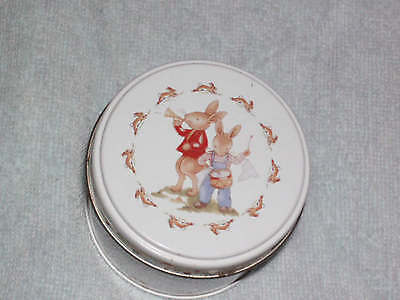 Royal Doulton - bunnykins -  collectable tin - rabbit picture image