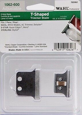 Wahl 5 Star 2 Hole T-Shaped Trimmer Blade # 1062-600 Upc, 043917106267
