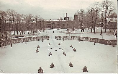 Sweden Stockholm - Garden 1952 cover mailed real photo postcard