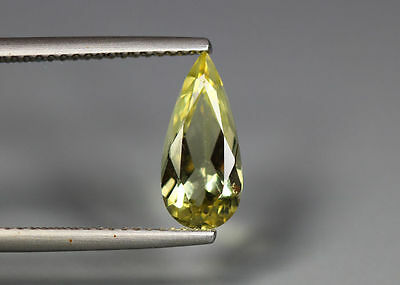 1.49 Cts_Wow !! Amazing Brazilian Gemstone_100 % Natural Heliodore Yellow Beryl