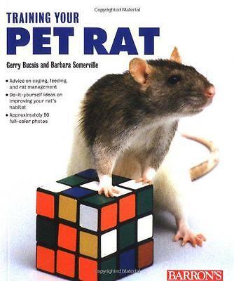 Training Your Pet Rat, G. Buscis | Paperback Book | 9780764112089 | NEW