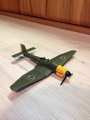Vintage Dinky Toy 721 Die Cast German Aircraft Junkers Ju 87B