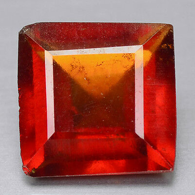 1.86 Cts Fancy Orange Red Color Natural Hessonite Garnet  Gemstones