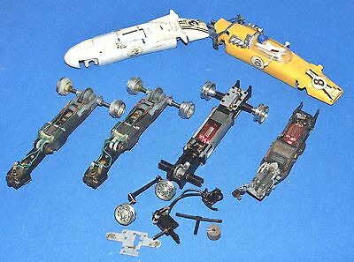 Vintage Scalextric Chassis/Engines