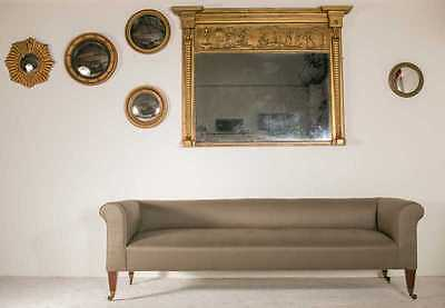 Antique sofa large chesterfield