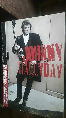 PLV Johnny Hallyday Promo Rough town