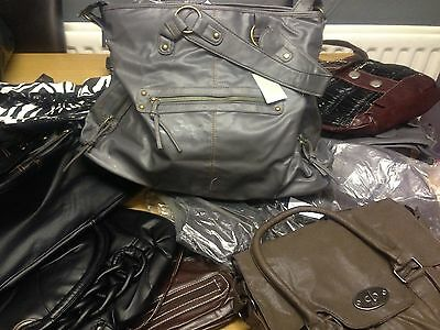 Joblot Clothes And Handbags New 10 Bags 60 Items Of Clothes