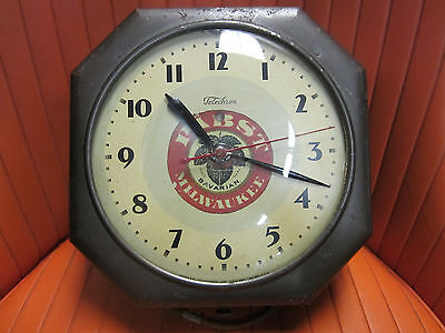 Antique 1920's PABST MILWAUKEE Telechron Clock *RARE Early Advertising Beer Clck