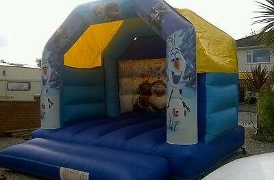 commercial frozen bouncy castle with blower good condition no repairs Paignton