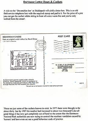 Dartmoor Letter Boxes & Cachets Collection Page 14