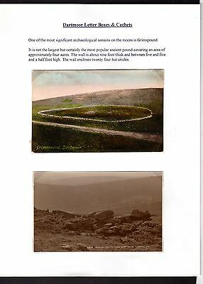 Dartmoor Letter Boxes & Cachets Collection Page 15