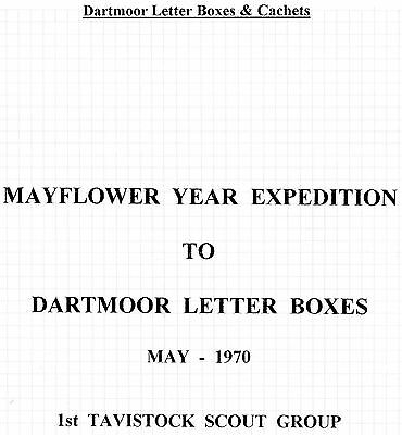 Dartmoor Letter Boxes & Cachets Collection Page 16