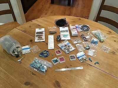 jewellery making beads, glass, silver, brass and Kits