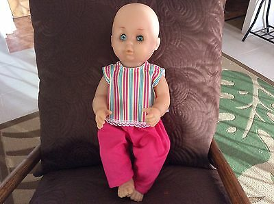 Handmade Dolls Clothes.  Fits 16 -17 Inch Doll, Baby Born and Baby Cabbage Patch