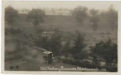POSTCARD OLD FACTORY GROUNDS  BLACKWOOD MONMOUTHSHIRE WALES no 1299